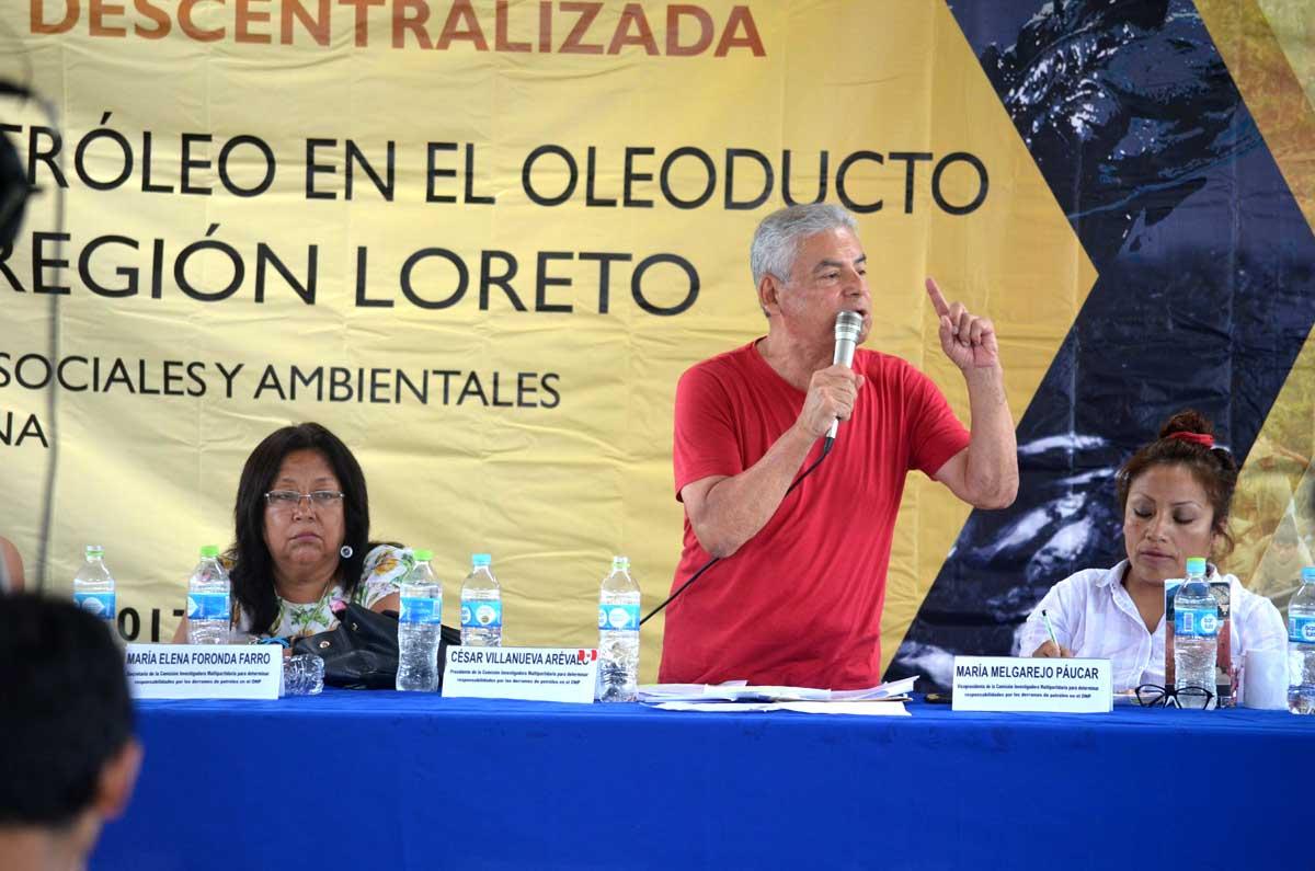 Titular de la Comisión, César Villanueva Arévalo, presenta informe preocupante para el área que es patrimonio nacional.