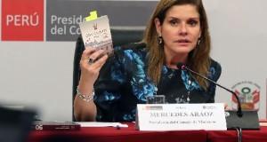 Mercedes Aráoz, presidenta del Consejo de Ministros. EFE