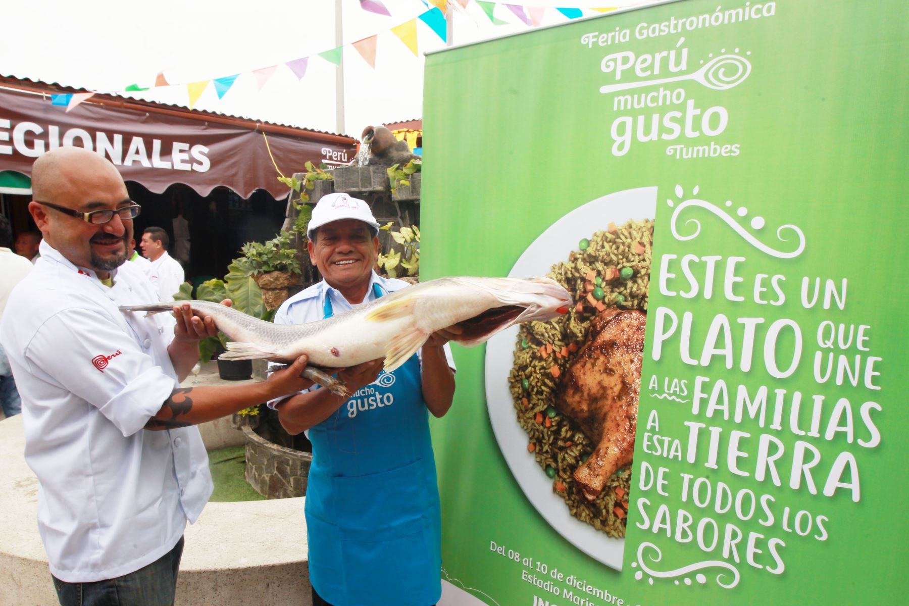 En esta feria gsstronómica participarán destacados chefs. Foto: ANDINA/Héctor Vinces.