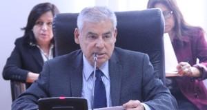 El congresista César Villanueva Arévalo (APP) al sustentar el Proyecto de Ley 01609/2016-CR, de su autoría, debatido y aprobado por unanimidad en la Comisión de Salud del Congreso.
